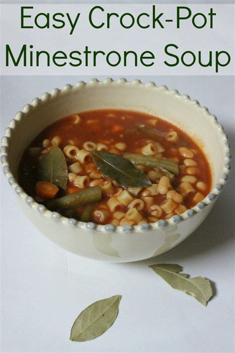 easy cooker soup recipes 17 best ideas about crockpot minestrone on pinterest minestrone soup recipes minestrone soup