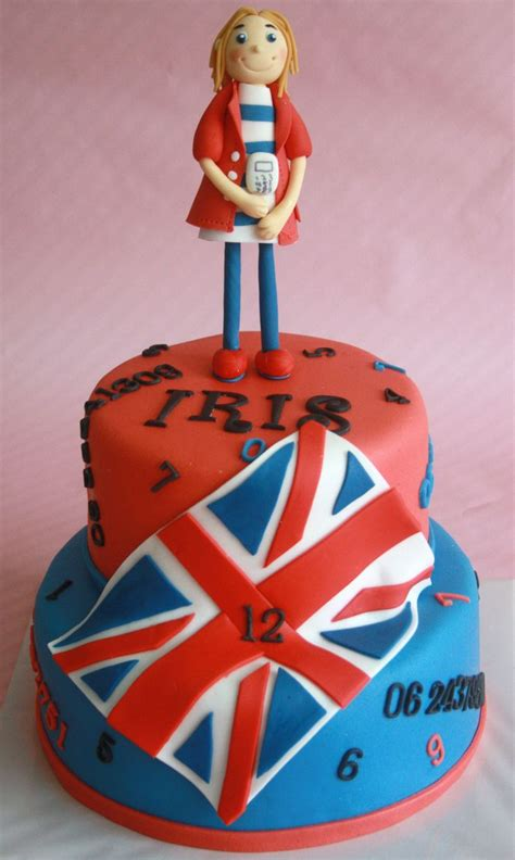 Cake with British Flag