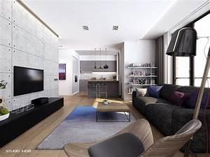 Modern apartment interior design home design for Great apartment interior ideas