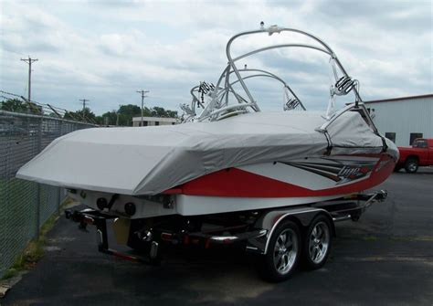 Shoretex Boat Cover by Tige With A Tower Custom Boat Cover Boat Covers