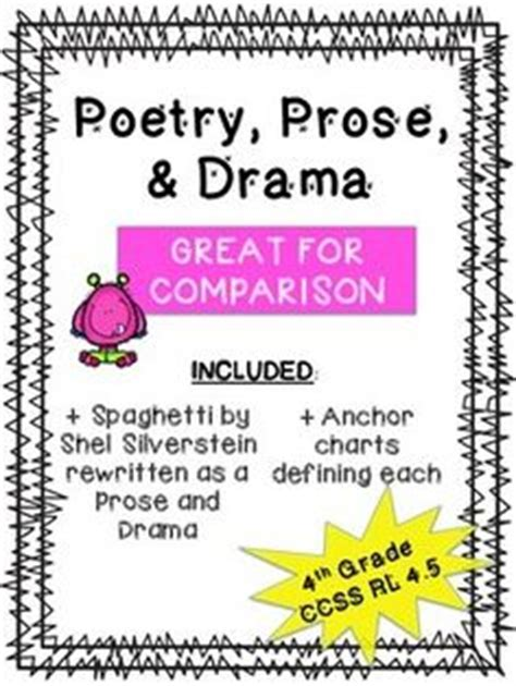 1000+ Images About Comparing Poetry, Prose, And Drama On