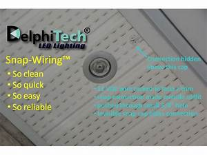 Delphitech led lights so fit for your soffit and much