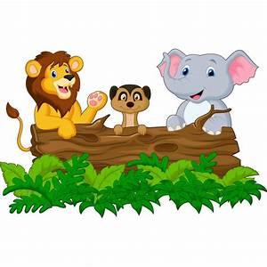 Stickers Animaux De La Jungle : stickers enfant animaux jungle savane art d co stickers ~ Mglfilm.com Idées de Décoration