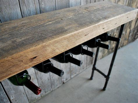 3 Ft Reclaimed Wood Wine Bar And From Urban Wood Goods