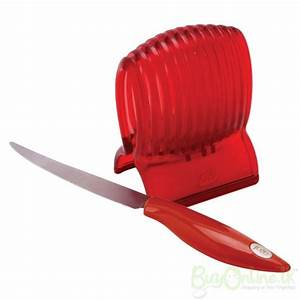 Tomato Slicer & Knife create perfect slices everytime