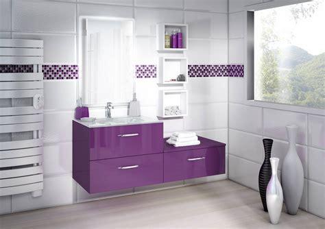 decoration des cuisines modernes meuble salle de bain prune