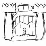 Castle Bouncy Drawing Clipartmag sketch template