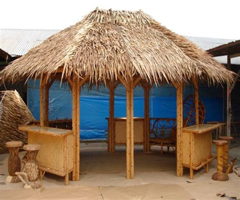 Joes Tiki Hut by Custom Tiki Huts Paradise Outdoor Kitchens Outdoor
