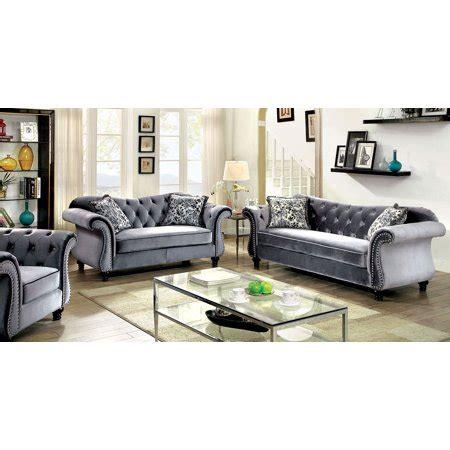 Luxurious Sofa Sets by Luxurious Jolanda Sofa Set Sofa And Loveseat Grey
