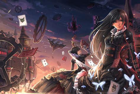 hd gothic anime wallpapers pixelstalknet