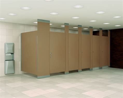 the most popular material choices for stall dividers for
