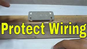 How To Protect Electrical Wiring Behind Drywall