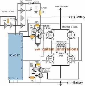 Make This 1kva  1000 Watts  Pure Sine Wave Inverter