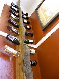design weinregale creative vertical wine rack shelf in the corner room spaces ideas