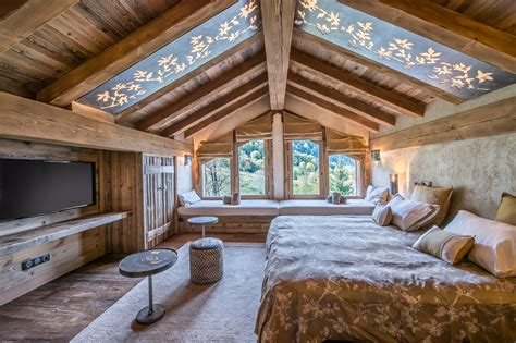 chambre chalet de luxe chalets du hameau méribel