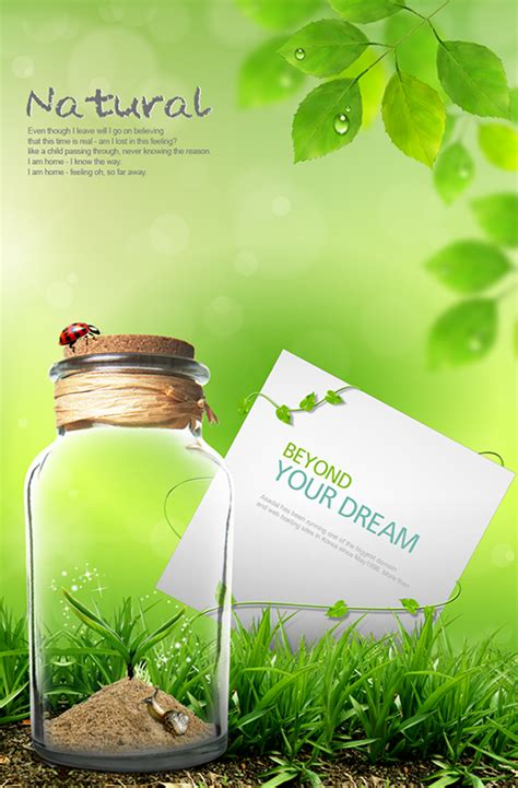 green photoshop flyer psd images green psd background