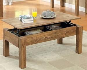 table basse evolutive stunning table basse relevable With attractive meuble salon noir et blanc 14 la table basse relevable pour votre salon fonctionnel