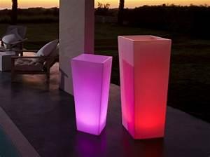 Pot Fleur Ikea : le pot de fleur lumineux repr sente une d co charmante de vos jardins ~ Teatrodelosmanantiales.com Idées de Décoration