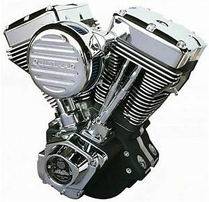 Ultima El Bruto Complete Evolution 127 U0026quot  Black Motor Engine Harley Evo Big Twin