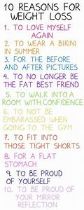reasons to lose weight on Tumblr