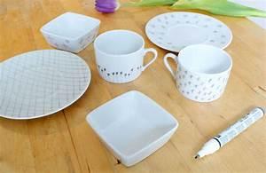 Vaisselle En Porcelaine : personnaliser votre vaisselle en porcelaine mademoiselle je sais tout ~ Teatrodelosmanantiales.com Idées de Décoration