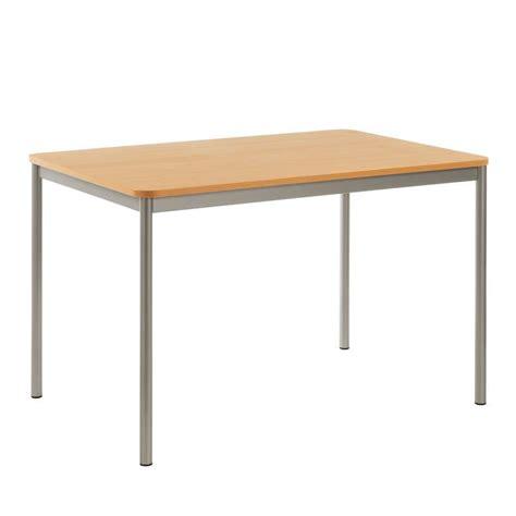 table cuisine 4 pieds table de cuisine rectangulaire en stratifié basic 4