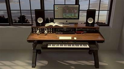 Desk Studio Recording Keyboard Industrial Hure Making