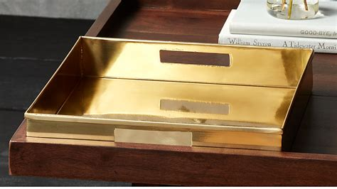 Modern trays, coffee table trays, trays for coffee table, modern trays modern trayscoffee table trays coffee table trays trays for coffee table trays for coffee table. bento brass coffee table tray | CB2