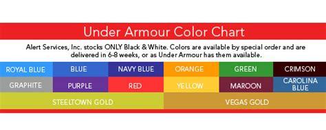 armour color codes armour heat gear t shirt 39