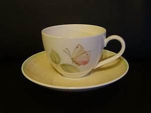 Villeroy Boch De : villeroy boch florea teetasse kaffeetasse tasse mit unterteller ~ Yasmunasinghe.com Haus und Dekorationen
