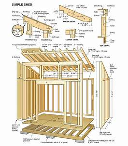 14 X 24 Shed Plans Free : Sheds Blueprints 7 Steps To