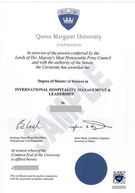 queen margaret university degree qmu fake diploma fake