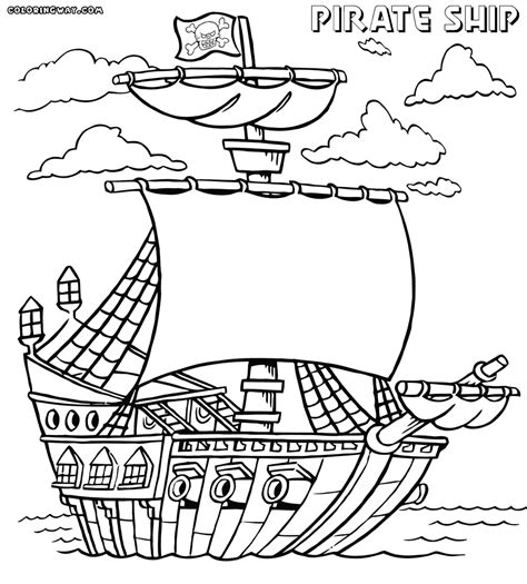 pirate ship coloring page pirate ship coloring pages coloring pages to