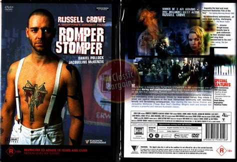 Romper Stomper Russell Crowe Neo-nazi Skinheads New Dvd