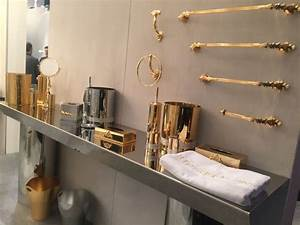 Bathroom accessories that let you tweak the decor to your for Gold and silver bathroom accessories