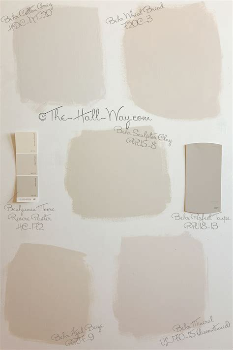 Neutral Bathroom Paint Colors Benjamin by Best 25 Taupe Paint Colors Ideas On Bedroom