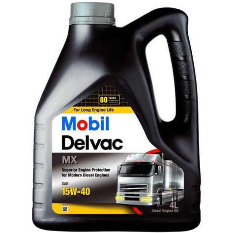 mobil delvac mobil delvac mx 15w 40 4l