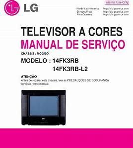 Lg 14fk3rb  Chassis Mc059d  Service Manual  Repair Schematics