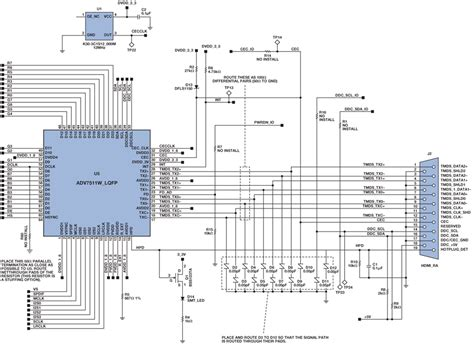 Cer Converter Wiring Diagram by Hdmi To Vga Schematic Wiring Diagram Tutorial