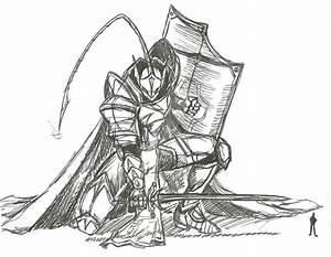 BAS (Battle Armor Slave) Knight by ADSouto on DeviantArt