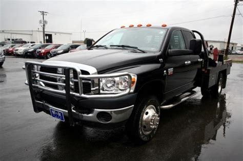 Purchase Used 2007 Dodge Ram 3500 4wd Diesel Crew Cab Flat
