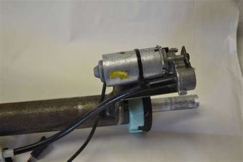 corvette  power telescopic steering column oem