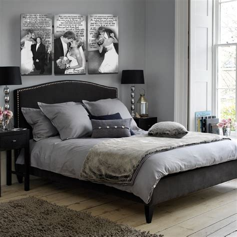 Gray And Black Bedroom by How To Decorate Your Bedroom With Black Bedroom Furniture