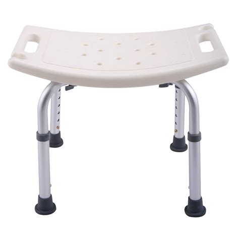 height adjustable bath shower chair medical seat stool