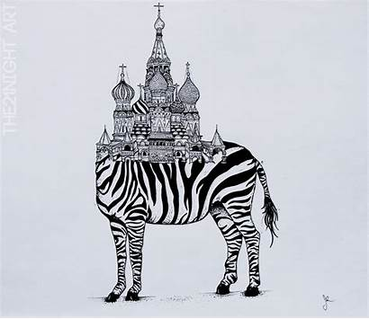 Unique Animals Rare Basilic Zebra Moscow