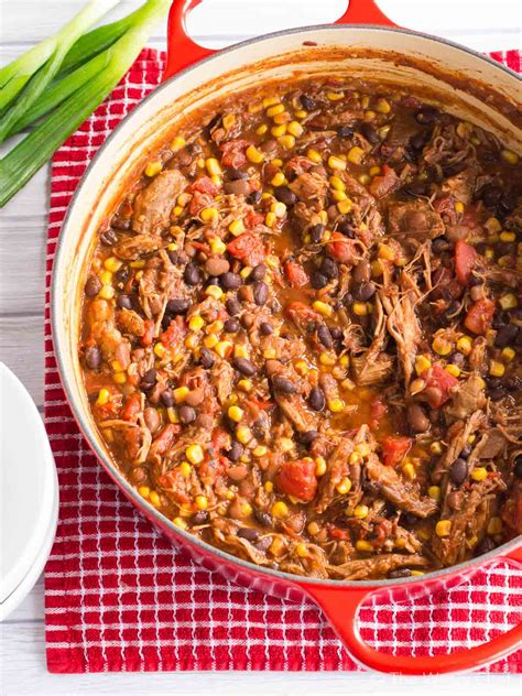 1 add the thick chunks of roast pork to the marinade and combine well. Leftover Pork Chili Recipe - The Weary Chef