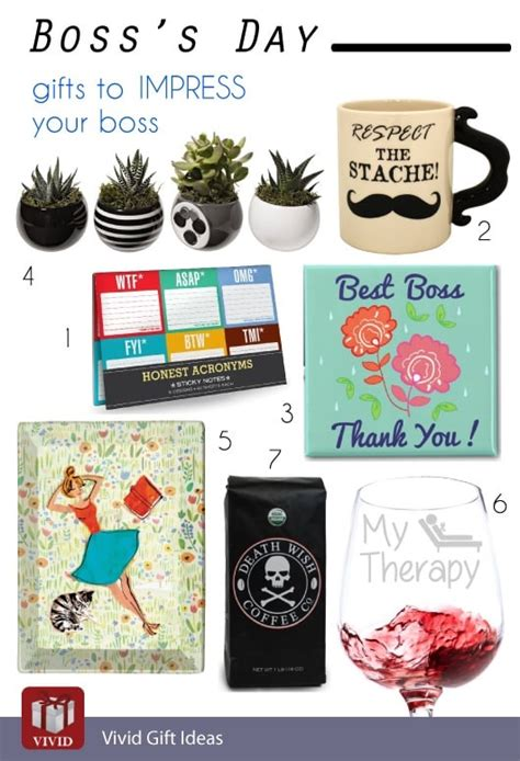 boss s day 10 gifts to impress your boss vivid s