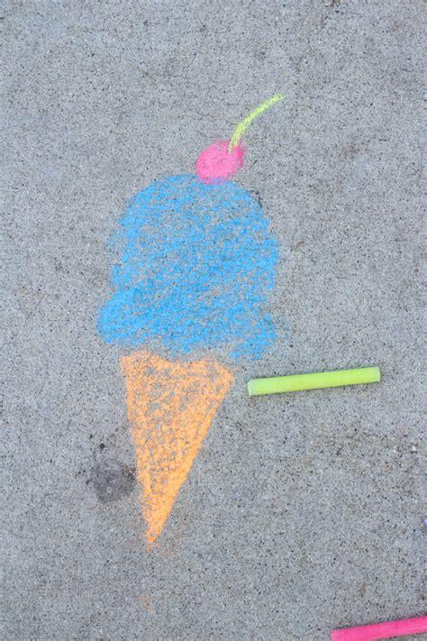 diy printable sidewalk chalk stencils