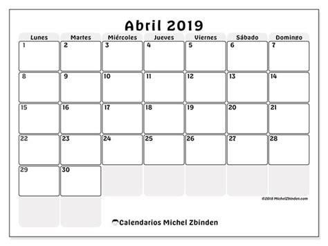 calendario abril ld michel zbinden es