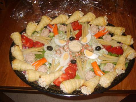salade compos 233 e et cornet feuillet 233 les delices de oumsafiya
